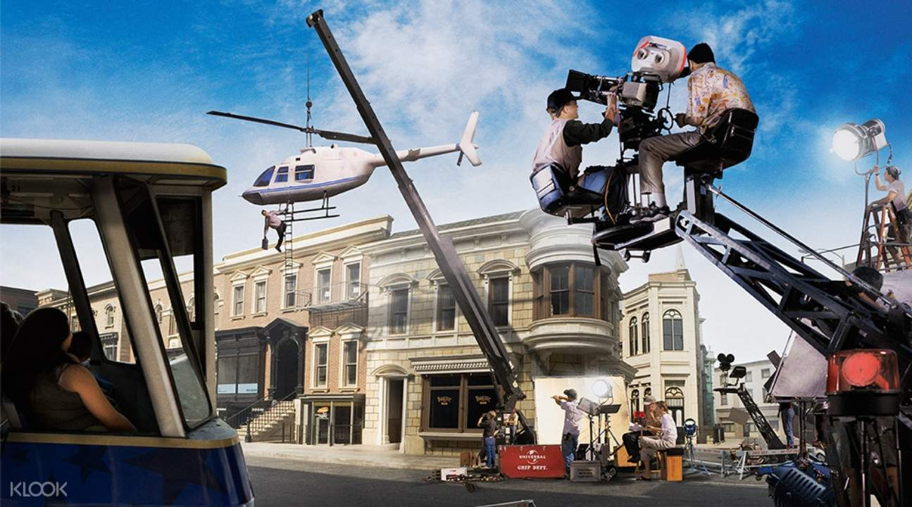 a movie set in Universal Studios Hollywood